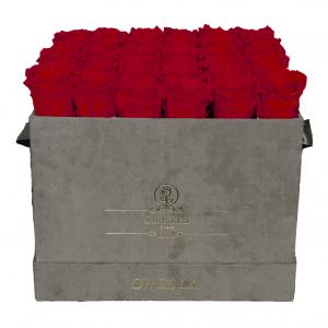 Lá Grande Square - Red Roses - Oh Lá Lá Roses